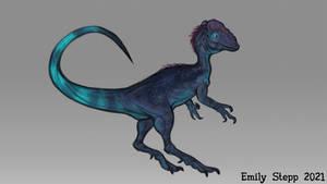 Dilophosaurus Doodle