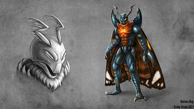 Demon Bug Concept Commission