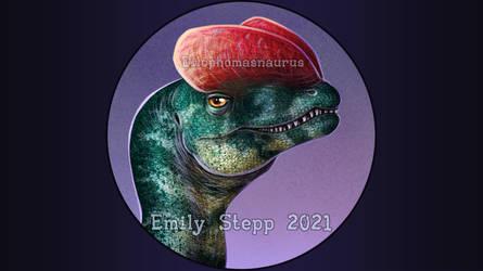 Dilophosaurus Icon Commission