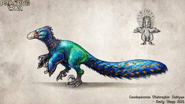 Caudapavonis Utahraptor