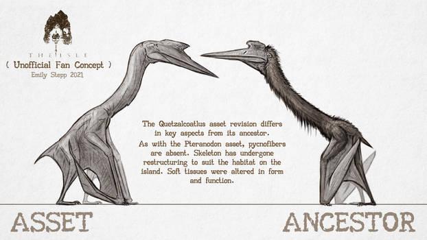 Asset vs. Ancestor: Quetzalcoatlus