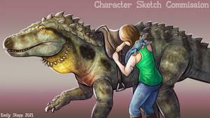 Fasolasuchus Character Sketch