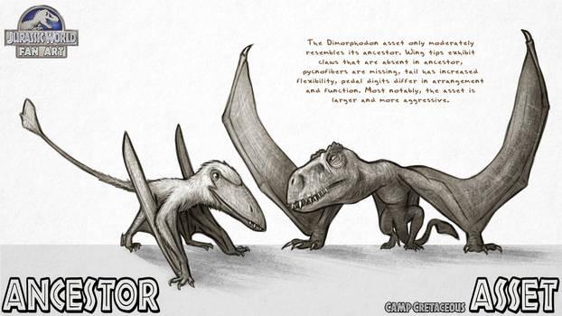 Asset vs. Ancestor: Dimorphodon