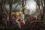 Ngandong Tiger Scene Commission