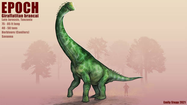Epoch - Giraffatitan