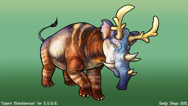Outdated Uintatherium