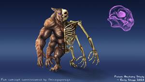 Ferox Skeletal Anatomy Fan Concept