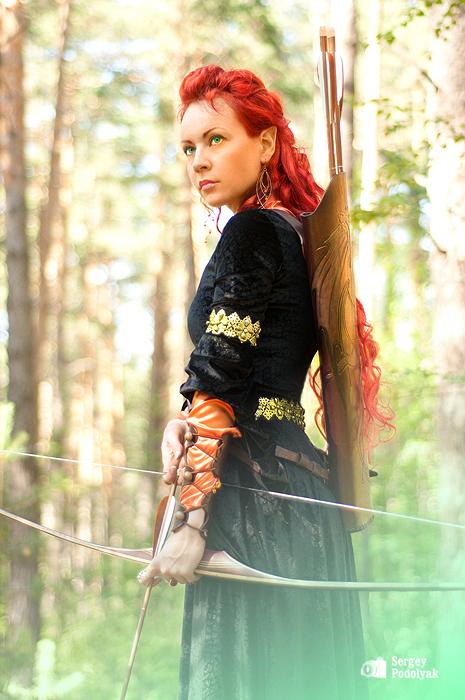 Irin the archer by Serepsa