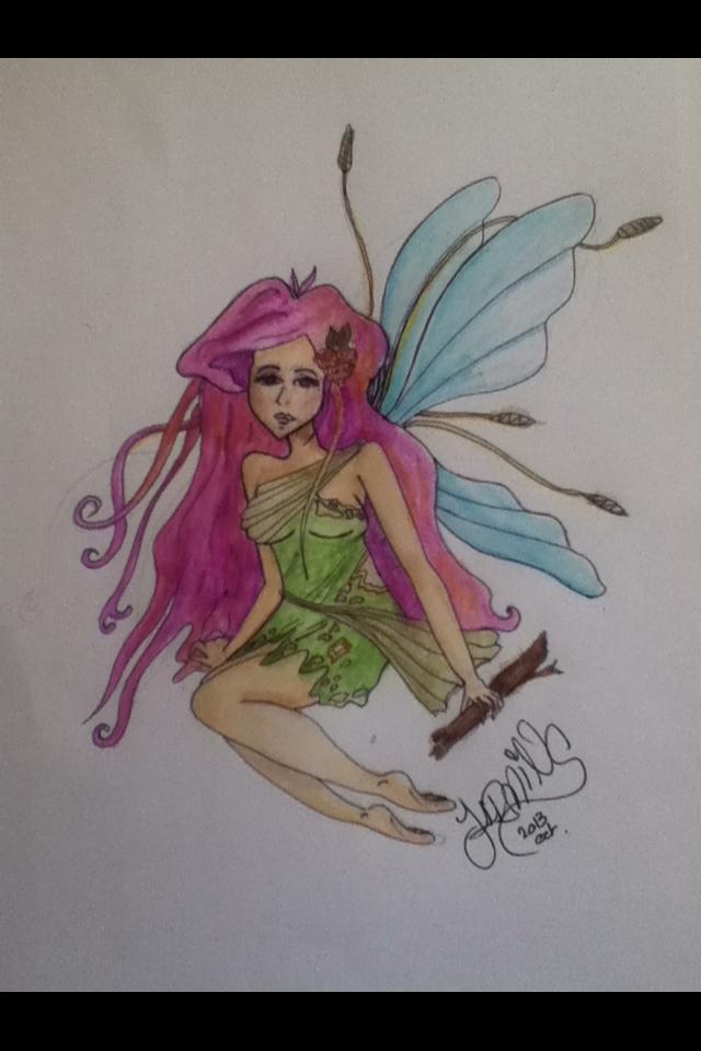 Sad Fae (faerie) by J4rming
