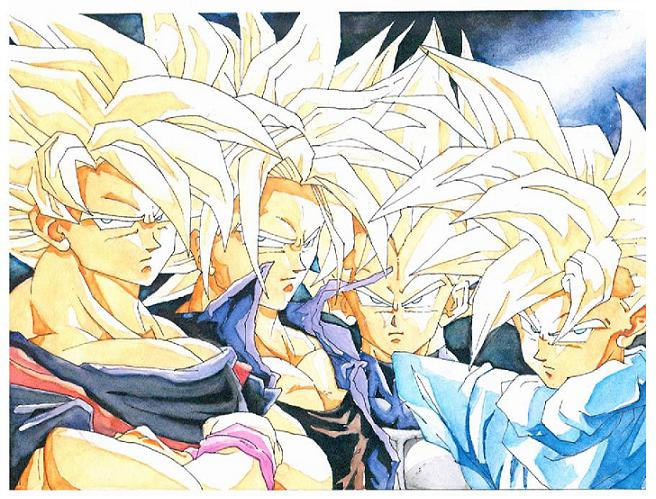 dragon ball Z by masterjeidee