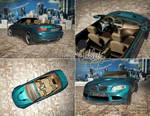 BMW M3 Cabrio in 3ds max