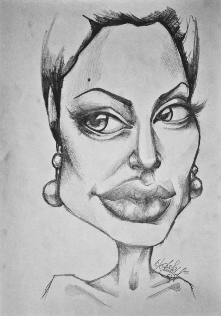 Jolie Caricature
