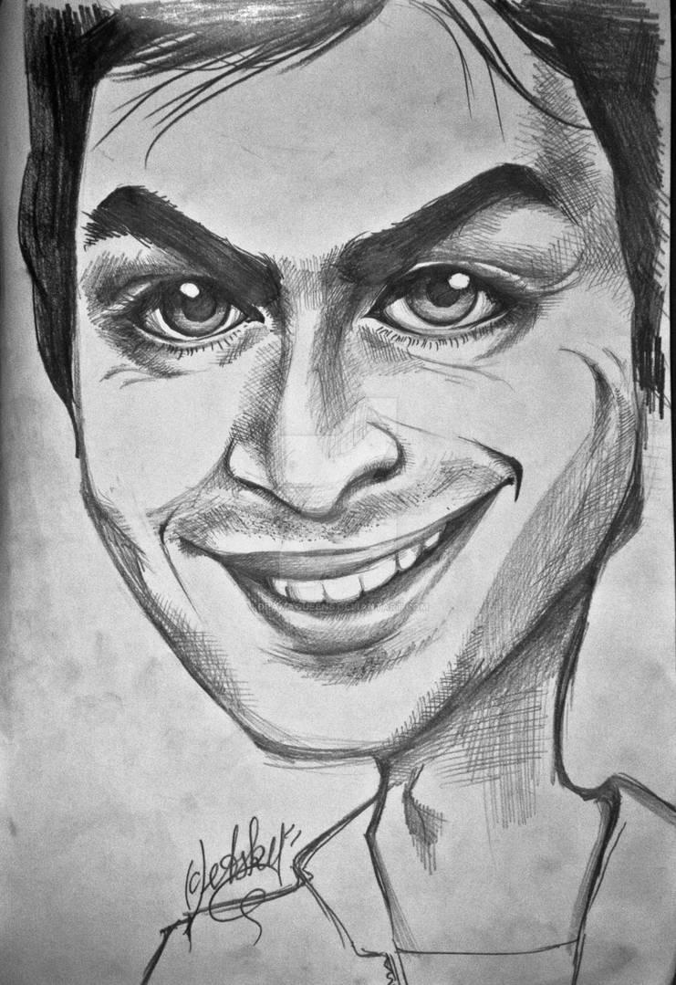 Somerhalder caricature