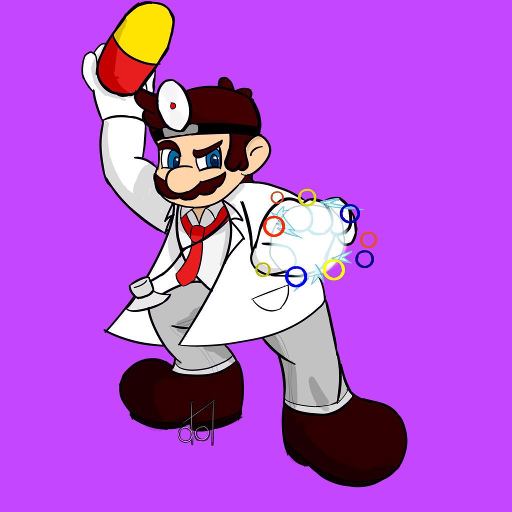 Dr Mario- Super Smash Bros. by dramateen01