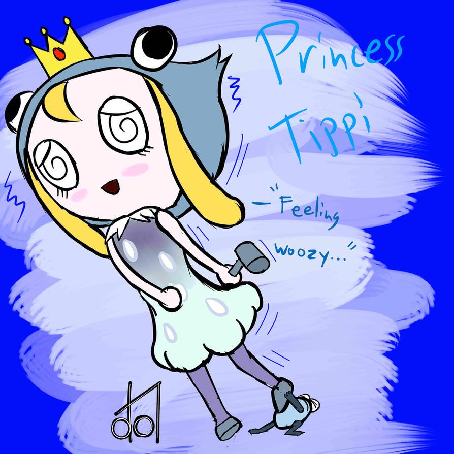 Ribbit King- Princess Tippi by dramateen01