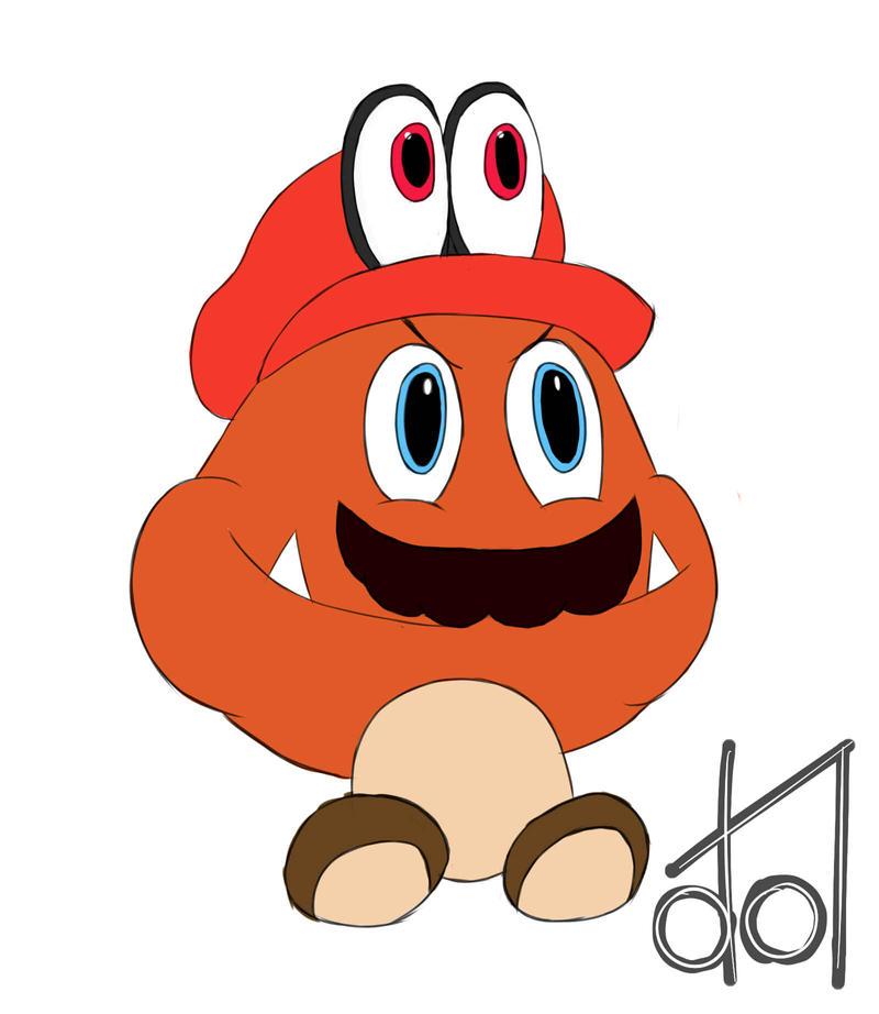 Goomba Mario by dramateen01
