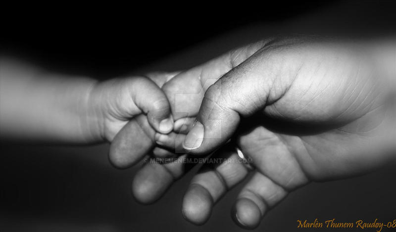 Holding hands by menemenem
