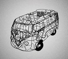 Typo: Cooper Std VW Minibus by Apotag