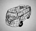 Typo: Cooper Std VW Minibus