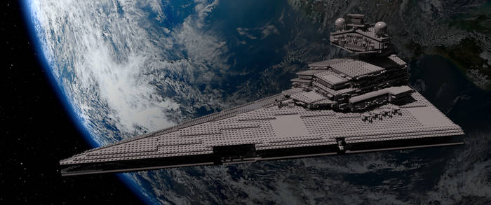 Imperial Star Destroyer - 10030 by cubewot