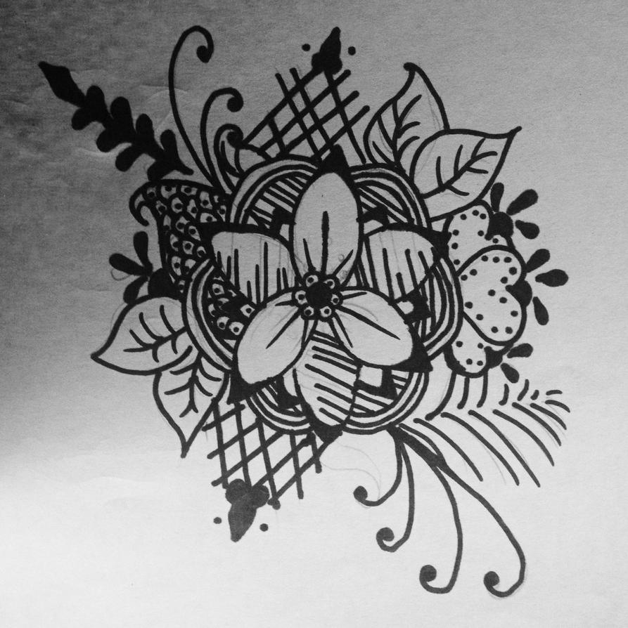 Henna type doodley thing by Prosper-the-XVIII