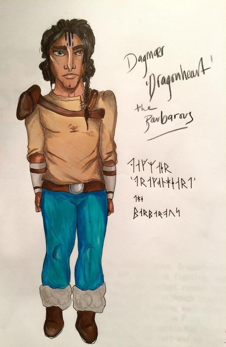 Dagmaer 'Dragonheart' the Barbarous by Prosper-the-XVIII
