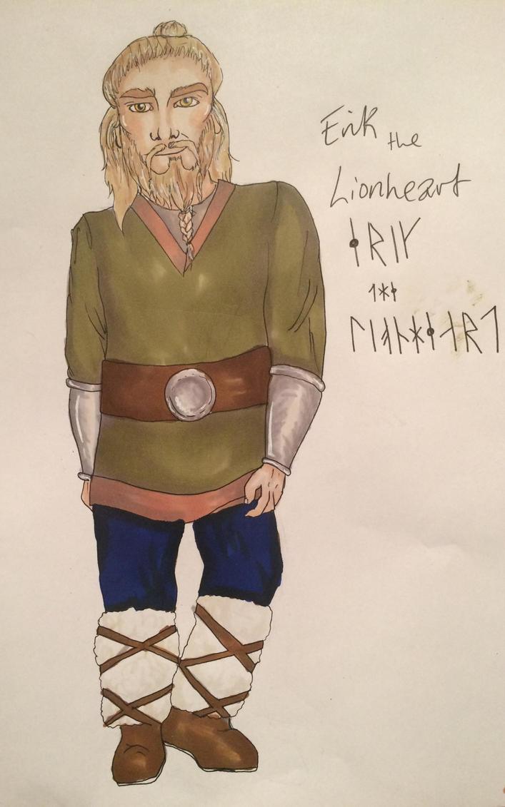 Erik the Lionheart by Prosper-the-XVIII