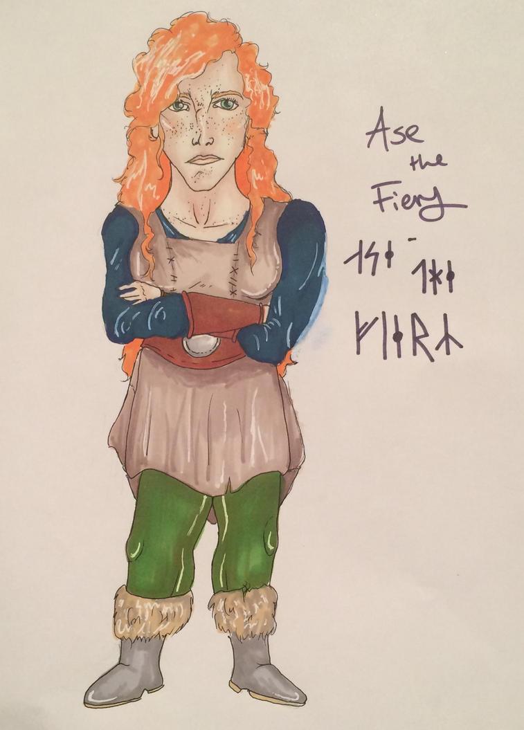 Ase the Fiery by Prosper-the-XVIII