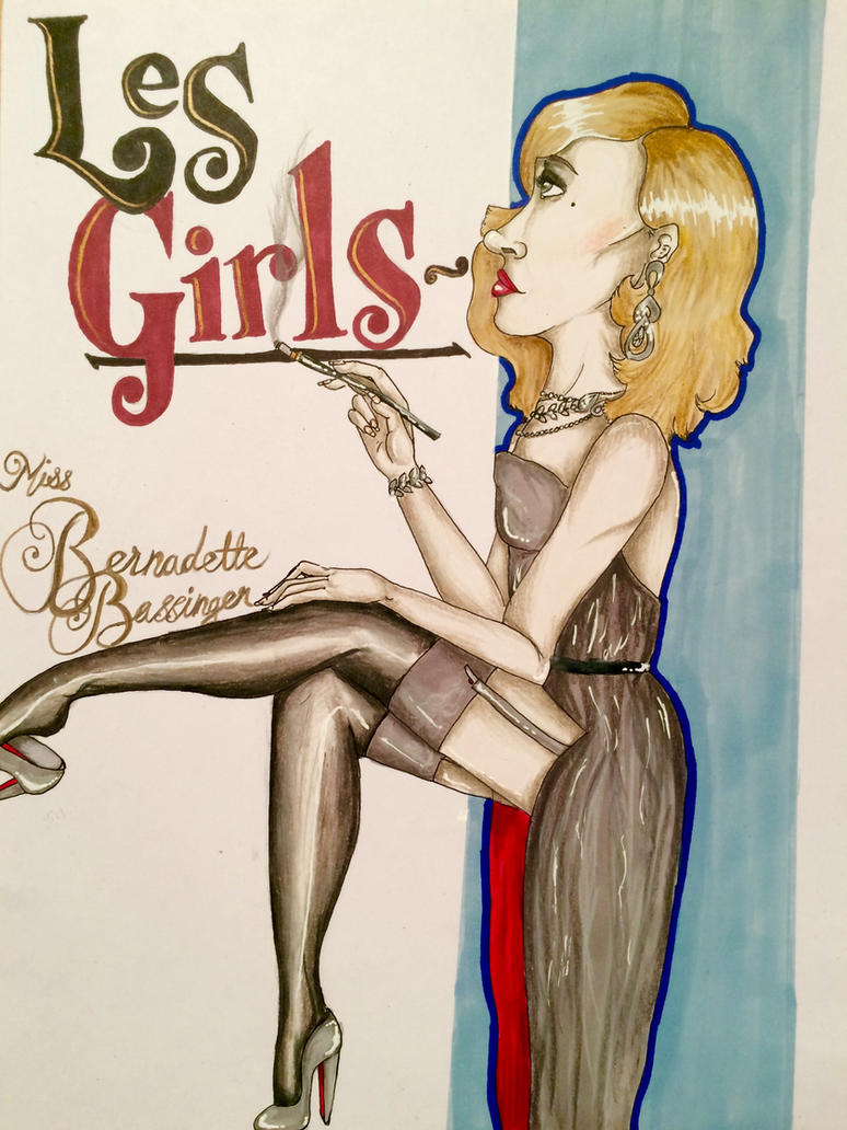 Les Girls: Miss Bernadette Bassenger by Prosper-the-XVIII