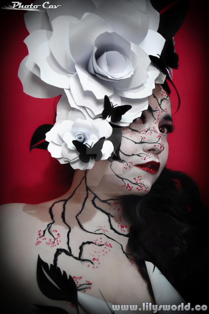 Rosa black y white by Lilysworld05