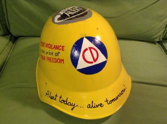Civil defense helmet 1