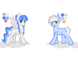 Opposite Twin Pony Adopts|OTA|OPEN by MadWhovianWithABox