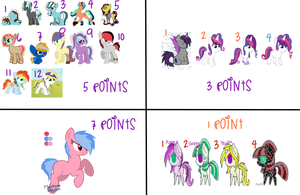 Old Pone Adopts Sale by MadWhovianWithABox
