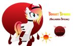 Sunset Sparks- Halloween Pone Adopt| OPEN| by MadWhovianWithABox