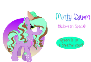 Minty Dawn- Icecream Special Pone Adopt|OPEN by MadWhovianWithABox
