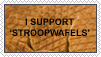 I support Stroopwafels by Plumey