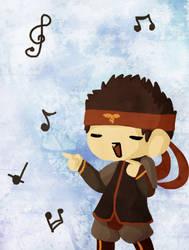 Aangie dances by Plumey