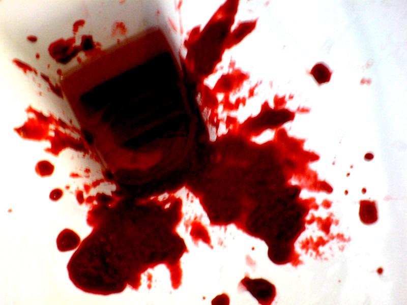 Blut Mit Stuhl Dekoration Bild Idee