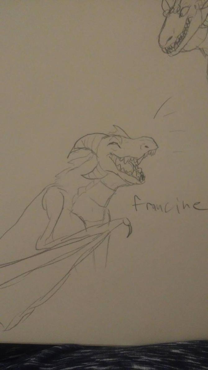Francine dragon by fnaflvr247