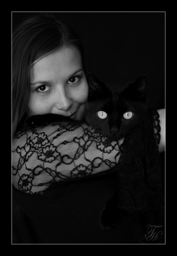 Sally and me by Azraelia