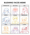 Tmnt: Blushing meme