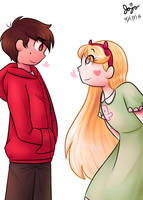 Star and Marco by Jojodear