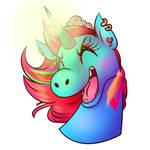 Neon Ponyhead