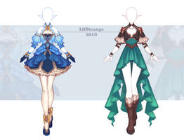 [Open] Adoptable Outfit Auction 338-339