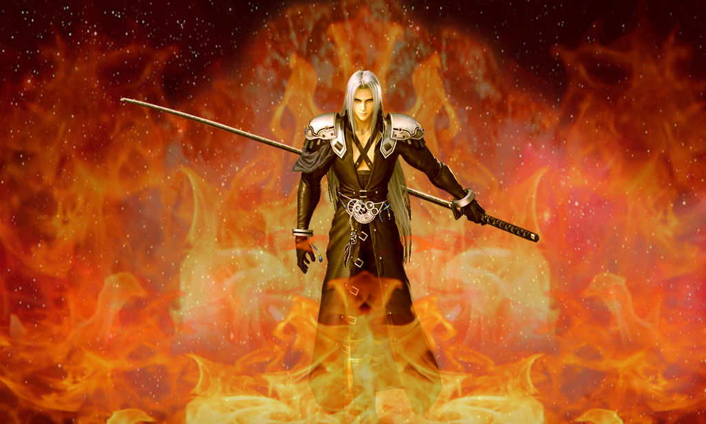 Final Fantasy Vii Sephiroth By Araneahighwindxiii On
