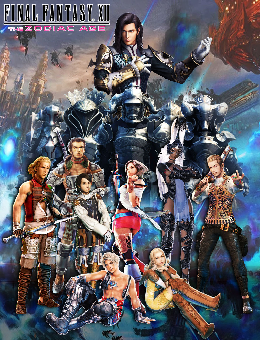 Final Fantasy Xii Wallpaper By Araneahighwindxiii On Deviantart