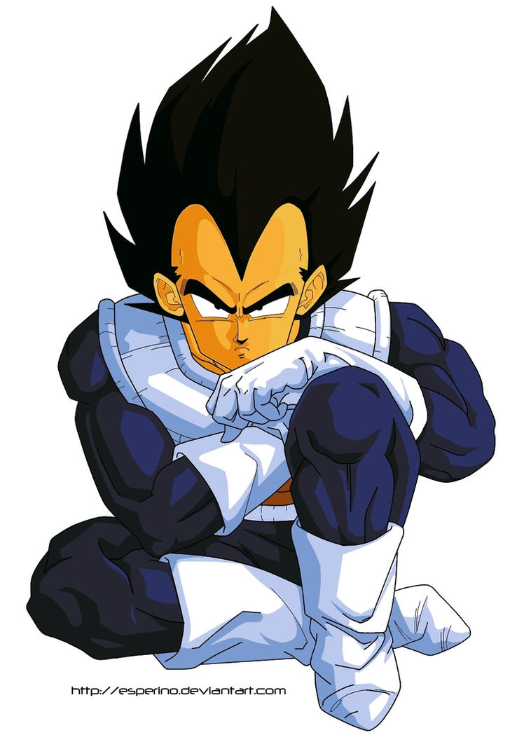 Dragon Ball Z Vegeta Paint 1 by Esperino