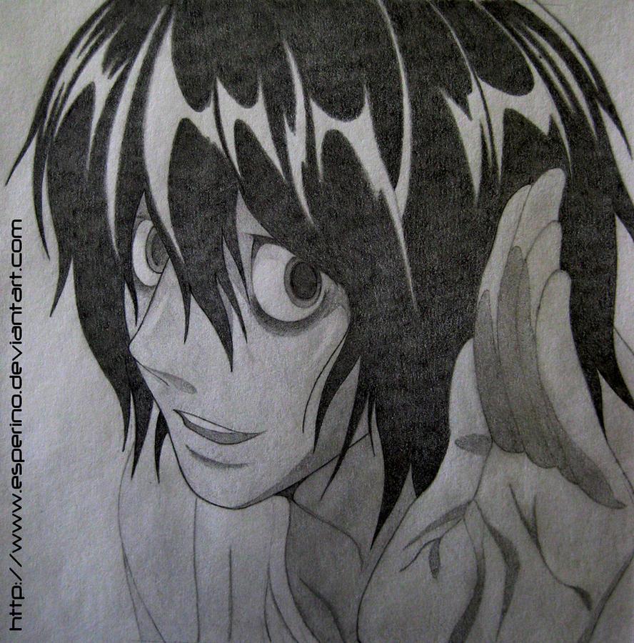 Death Note L Law...L Lawliet Rain Gif