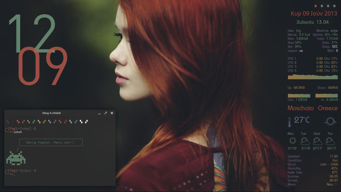 Redhead Xubuntu by irenegr