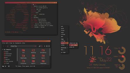 Lubuntu gradient by irenegr